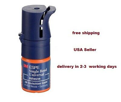 3m Espe Single Bond Universal Bonding Adhesive 3 Ml With Free Shipping To Usa