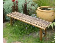 Brown Bamboo bench Sale £13
