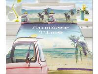 Summer Time Duvet Set Single - £16 Double - £26 - King Size - £32
