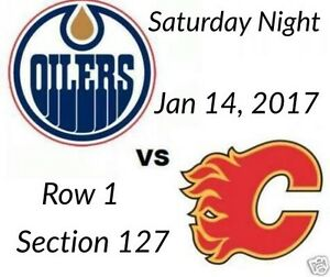Flames vs Oilers, Saturday Jan 14, 2017