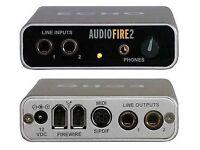 Audiofire 2 audio/midi interface