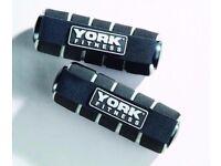 York Fitness Mini hand weights - 2 x 1kg ( 3 Month RTB Warranty ) 60032