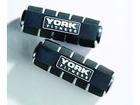 York Fitness Mini hand weights - 2 x 1kg ( 3 Month RTB Warranty ) 60032