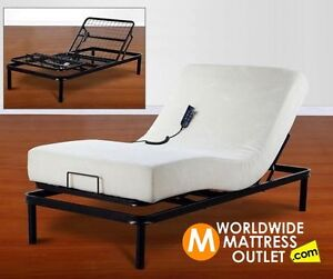 WE DEAL IN BRAND NEW ADJUSTABLE DUAL WHISPER MOTOR ELECTRIC BEDS