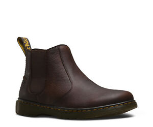 DR. MARTENS LYME chelsea boot in DARK BROWN GRIZZLY