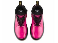 DOC MARTINS HOT PINK PATENT BRAND NEW NEVER WORN SIZE 4