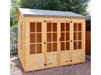 Sophie Summer House 9ft x 7ft 19mm Log Exterior