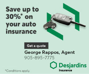 Save up to 30% on your auto insurance 905-895-7775 CALL NOW!!!