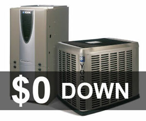High Efficiency Air Conditioner Furnace Rent to Own - $0 Down