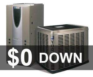 No Credit Check - Approval Guaranteed - Furnace - Rent to Own