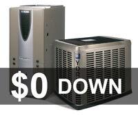 AC Furnace -$0 - NO Credit Check - Same Day Service