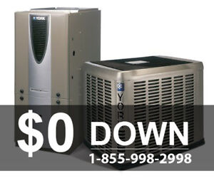 High Efficiency Furnace - Rental - Approval Guaranteed - $0 Down