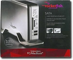 Rocketfish usb external hard drive with memory card readers