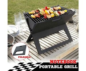 Portable Notebook Grill BBQ Foldable Folding Charcoal Camping Bar Perth Perth City Area Preview