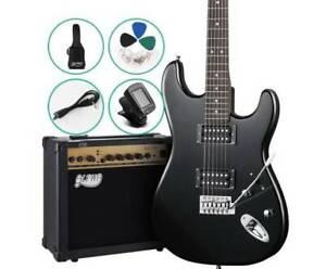Electric Guitar & 20w Amp Set Play like a Professional Musician Kings Beach Caloundra Area Preview