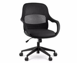 Modern Office Desk Chair - Black Urraween Fraser Coast Preview