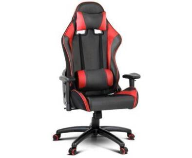 racing office chair seat executive computer gaming pu leather