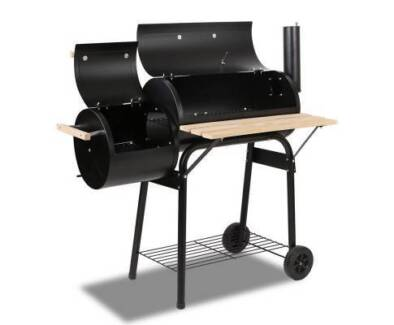 Smoker BBQ 2-in-1 Offset
