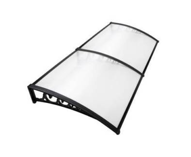 AUS FREE DEL-1x2M Sturdy DIY Window Door Awning Cover Transparent
