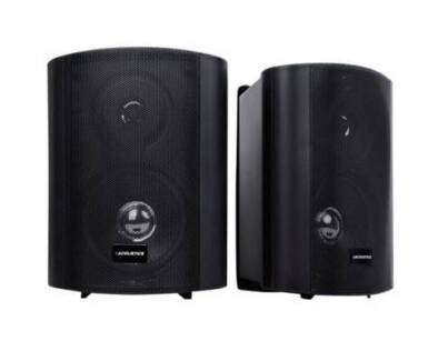 AUS FREE DEL-2x 5 Inch 2-Way Indoor Outdoor Waterproof Speakers