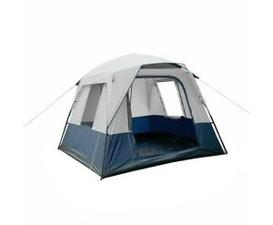 4 Person Family Camping Tent Navy Grey - free delivery Brisbane City Brisbane North West Preview