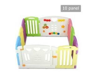 AUS FREE DEL-10 Panel Interactive Baby Safety Playpen Multi-color Sydney City Inner Sydney Preview
