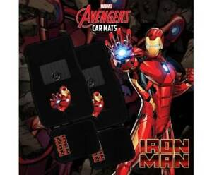 Marvel Avengers IRON MAN 4-Piece Car Mat Vehicle Free Shipping Mount Isa Mt Isa City Preview
