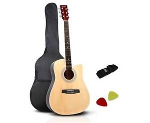 """AUS FREE DEL-41"""" Steel-Stringed Cutaway Acoustic Guitar Natural Sydney City Inner Sydney Preview"""