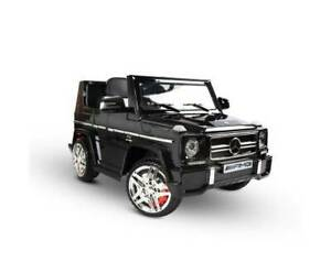 Licenced Mercedes Benz G65 Kids Ride On Car - Black Greenacre Bankstown Area Preview