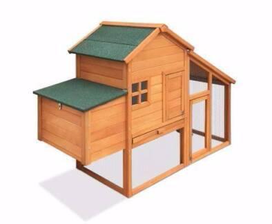 Brand New Chicken Coop Rabbit Hutch Ferret Cage Hen Chook House
