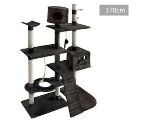 Cat Scratching Poles Post Furniture Tree 170cm Grey Perth Perth City Area Preview