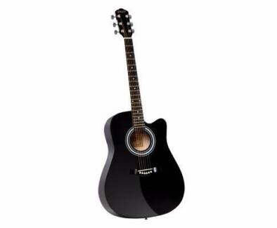 "41"" Steel-Stringed Acoustic Guitar Black Sydney City Inner Sydney Preview"