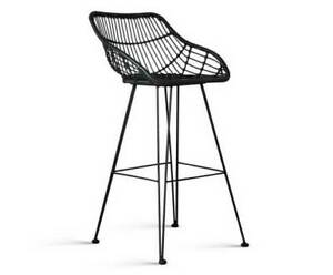 Bar Stools x 2 PE Rattan Stylish Modern Patio/Garden High Seat Kings Beach Caloundra Area Preview