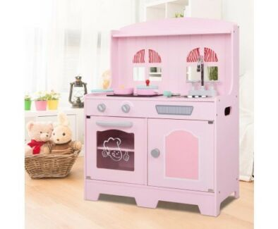 Incredible Wooden Kitchen  Playset - Free Australia Wide Delivery