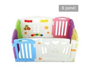 8 Panels Interactive Baby Playpen ***Free Delivery*** Morley Bayswater Area Preview