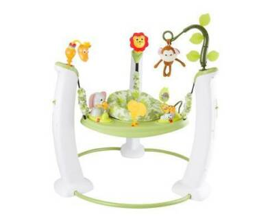 AUS FREE DEL-45 Activities Exersaucer- Safari Friends Baby Jumper