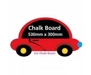 AUS FREE DEL-530x300mm Movable and Reusable Boys Car Chalkboard Sydney City Inner Sydney Preview