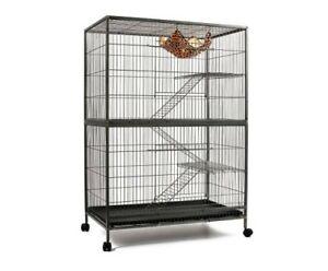 140cm Cat Ferret Hamster Rat Bird Aviary Budgie Pet Cage Wheel