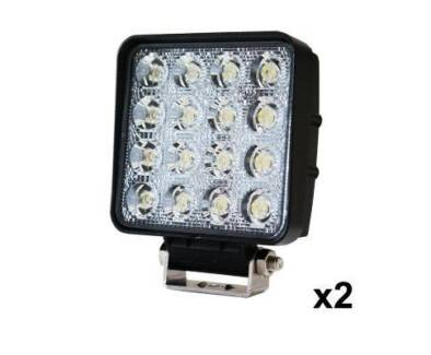 AUS FREE DEL-2x 80W LED Work Light Flood Lamp Offroad Tractor SUV