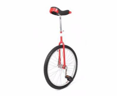UniCycle Bicycle 24 Inch Adjustable Seat WOW  Unique Rare WOW