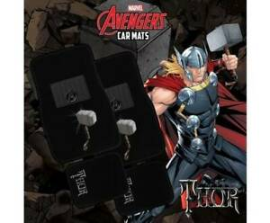 Marvel Avengers THOR 4-Piece Car Mat Vehicle Free Shipping Mount Isa Mt Isa City Preview