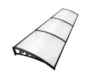 AUS FREE DEL-100 x 300cm DIY Window Door Awning Cover Transparent