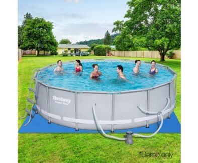 BRAND NEW! Bestway Steel Round Frame Pool 107CM