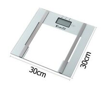 Electronic Digital Body Fat & Hydration Bathroom Glass Scale Point Cook Wyndham Area Preview