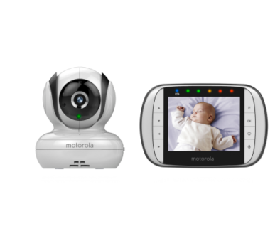 Beautiful Colour Baby Video Monitor - Keep An Eye On Baby