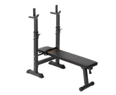 AUS FREE DEL-Foldable Multilevel Home Fitness Weight Bench 330lbs