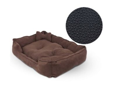 Beautiful Faux Suede Washable Dog Bed - Extra Large. Delivered