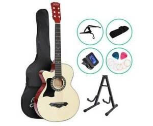 Acoustic Guitar - 38 Inch - Left Handed - Includes Accessories