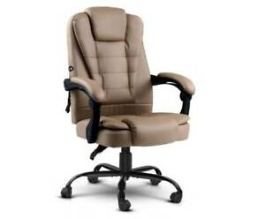 BRAND NEW Massage Office Chair PU Leather Recliner Computer Gaming