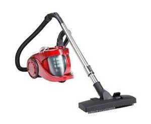 AUS FREE DEL-2800W Bagless Cyclone Cyclonic Vacuum Cleaner - Red Sydney City Inner Sydney Preview